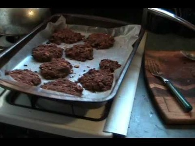 How to make afghan biscuits (for school)