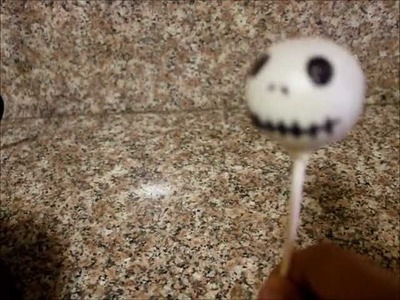 How to Make Jack the Pumpkin King Cake Pops