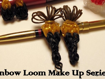 How to make Make Up Brush Charm - How to - Rainbow Loom
