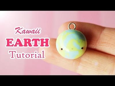 Kawaii Earth │ Polymer Clay Tutorial