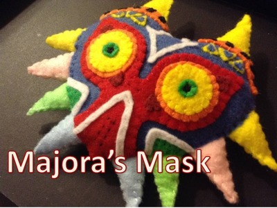 Majora's Mask Plush Tutorial