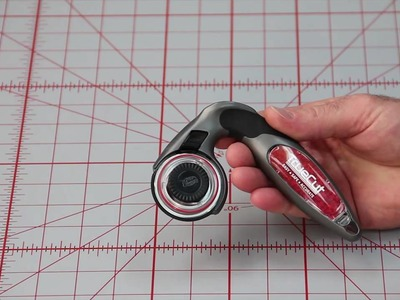 "Making the TrueCut ""My Comfort Cutter"" rotary cutter left or right handed"