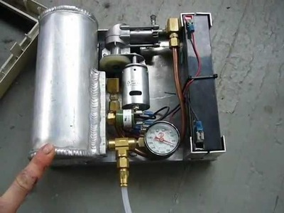 My DIY Mini Portable 12V Air Compressor