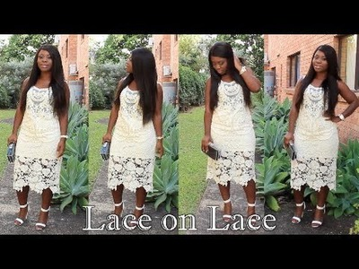 Outfit of the Day|| Lace on Lace