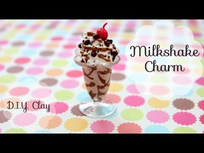 Polymer Clay Chocolate Milkshake Tutorial