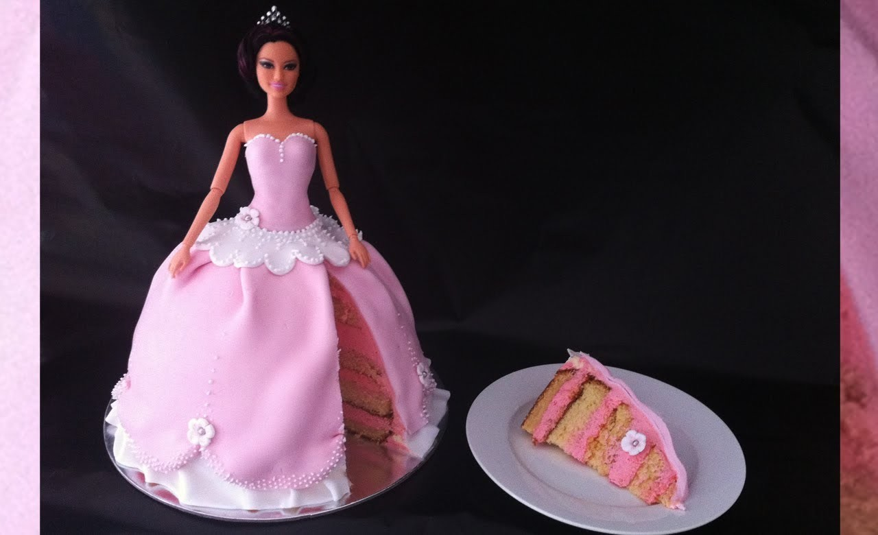 PRINCESS CAKE How to make princess birthday cake how to cook that reardon
