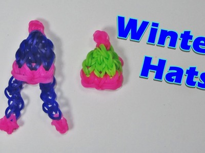 Rainbow Loom WINTER HAT Charm
