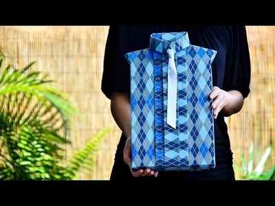 Shirt Style Gift Wrapping