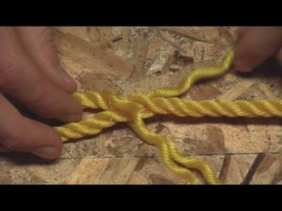 Splicing a Loop Into The End Of A Rope (Part 1) - HD