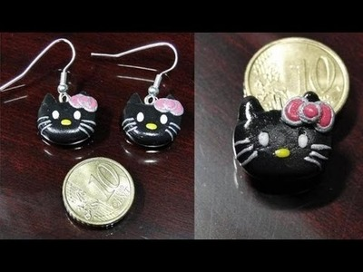 Tutorial 12 • hello kitty in fimo e cernit  - how to create a polymer clay hello kitty mac