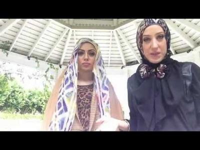 Vela bow tie hijab tutorial