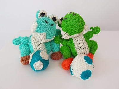 Yoshi Egg Mario Bros Rainbow Loom Bands Amigurumi Loomigurumi Hook Only Tutorial