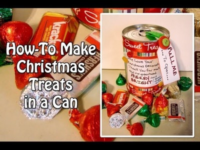 You've Been Elfed Series - How To Make Christmas Treats In A Can for Christmas - Day 4