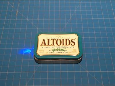 $3 Altoids Emergency USB Charger