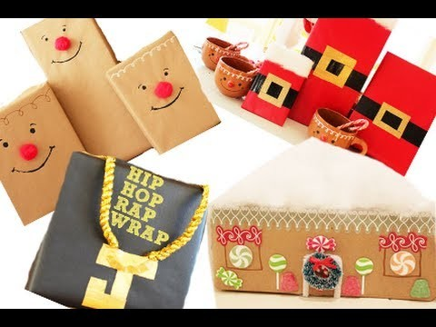 8 Fun Ways To Wrap A Christmas Present | Kandee Johnson