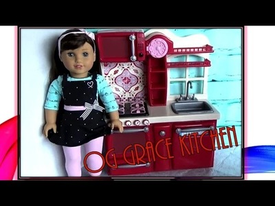 American Girl Doll Grace 2015 Kitchen ~ Opening & Review