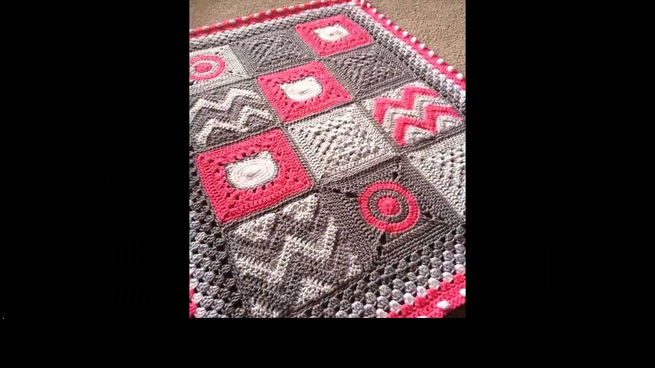 Baby crochet blanket tutorial
