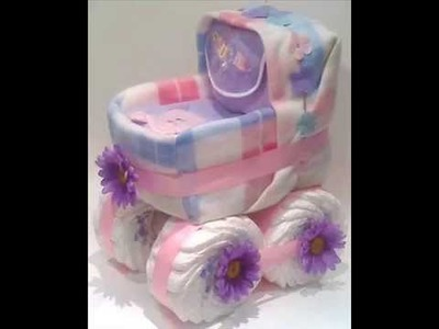 Baby shower gifts, baby shower centerpieces or table decorations