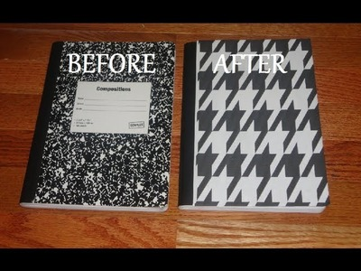 Back-to-School DIY: Notebook Design