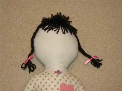 Child's Doll - Handmade & Fiberfilled - Directions