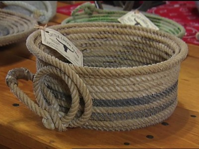 Cowboy Rope Baskets | Tennessee Crossroads