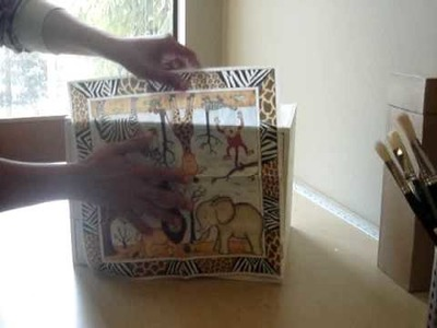 Decoupage with Paper Napkins - Part 1