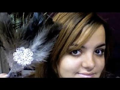 DIY: Feather Headbands ♡ Theeasydiy #BeautyDIY