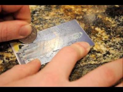 DIY Scratch-Off Business Cards