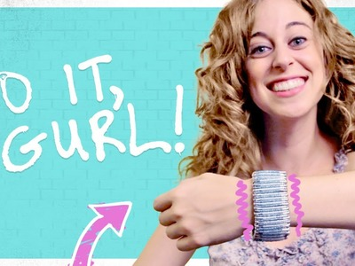 Do It, Gurl -  Make A Safety Pin Bracelet
