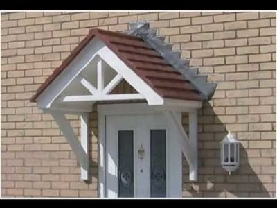 Door Canopies delivered to Home Owners, Roofers & Builders in the UK and abroad