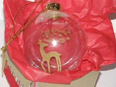Glass Ball Ornament Part 1 of 3 by Tami White