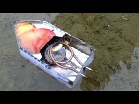 Homemade Steam Boat