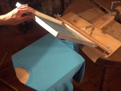 How To Build A Cheap T Shirt Screen Printing Press