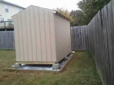 How to Build a Shed - Part 3, Shed Siding