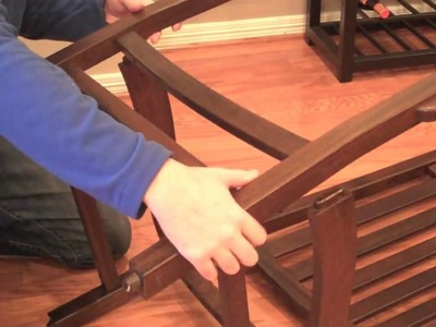 How to Build the Independence Outdoor Rocking Chair