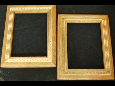 How to Inlay a Wood Inlay Banding in a Picture Frame - Woodworking Methods