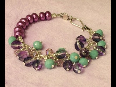 How to Make a Bead & Chain Bracelet