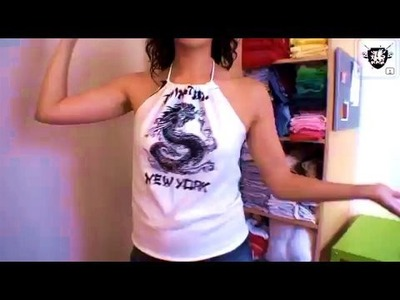 How-to Make a Halter Top with Megan Nicolay, Threadbanger
