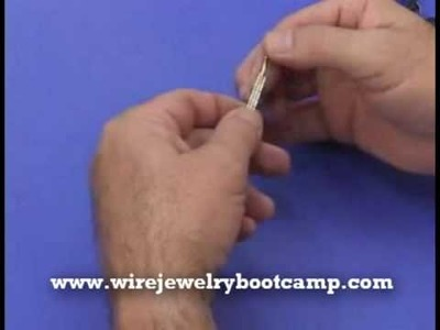 How to make a Roman Cuff Wire Jewelry Bracelet Part 1