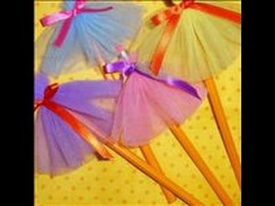 How to Make a Tutu Pencil Day 3