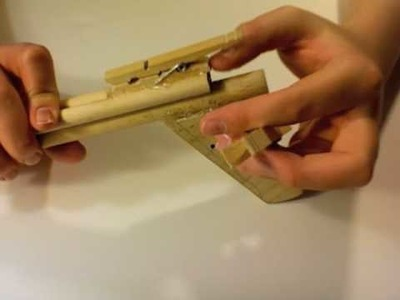 How to Make a Wooden Dowel Crossbow