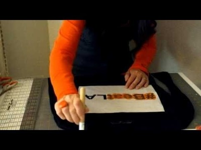 How to Make an Easy  Freezer Paper Stencil T-Shirt Day 1