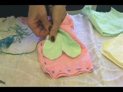 How to Make Dish Rag Puppets