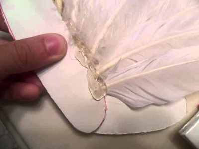 How to make; Feather Angel Wings