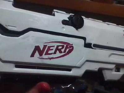 How to paint a nerf gun