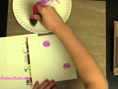 Howto Make Easy Cards and Protect Projects with Masking and Stenciling