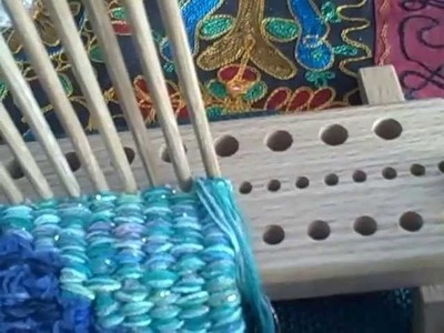 Introducing The Dewberry Ridge Peg Loom by Noreen CroneFindlay c)