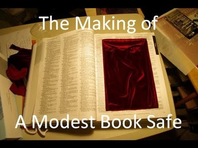 Making a Book Safe