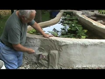 Making a Faux Rock Wall Part 1 Roughing In