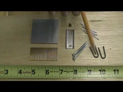 Making Splines in Picture Frames - A Woodworkweb woodwoking video
